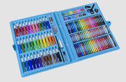 Набор для рисования фломастеры, карандаши, краски 150 предметов