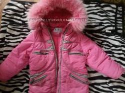 Зимняя куртка Кико  штаники в подарок. Сапоги термо