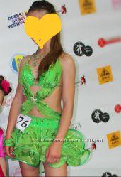 Платье для танцев латина на 13 17 лет