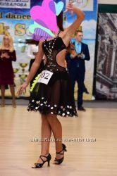 Платье для танцев на 12-15 лет латина