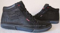 6e831815 Wrangler Мужские зимние кеды ботинки натуральная кожа в спортивном стиле