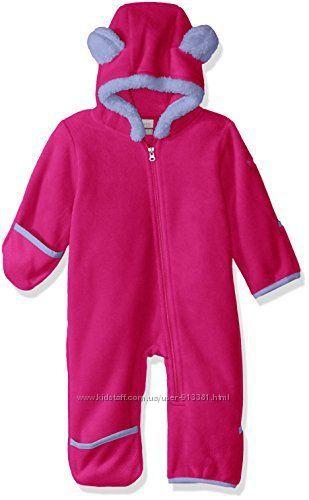 Тёплый флисовый комбинезон Columbia Baby Tiny Bear II Bunting, 12-18