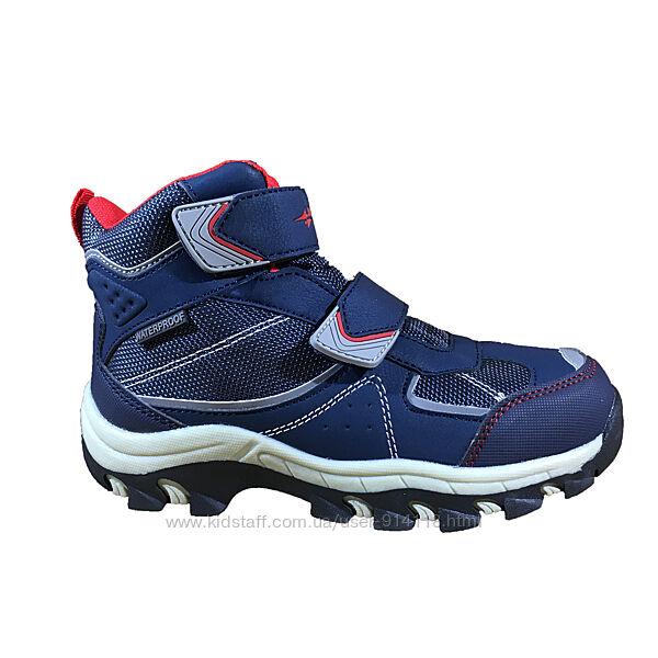Детские Ботинки Термо Bona 404H-9 мембрана синие 29-36р.