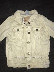Джинсовый пиджак куртка Zara