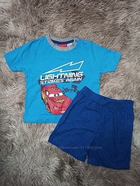 Домашний костюм-пижама Lupilu/Disney  размер 89-92 будут до р.104