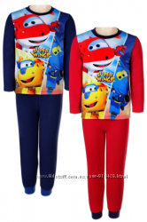 Пижама флисовая для мальчиков  DISNEY на рост 98-104