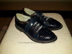 Школьные туфли Леопард р. 35 22 см
