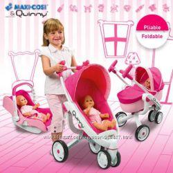 Коляска трансформер 4 в 1 для куклы Maxi Cosi Quinny Smoby 550389