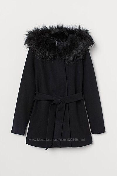 Демисезонное пальто hm размер S