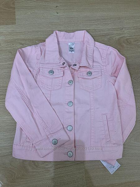 Джинсовая курточка Carters 6 л, рост 114-121 см