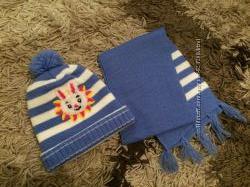 Комплект- шапка і шарф