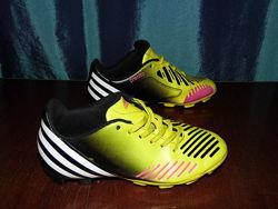 Сороконожки бутсы футзалки - adidas predito -34/21 см