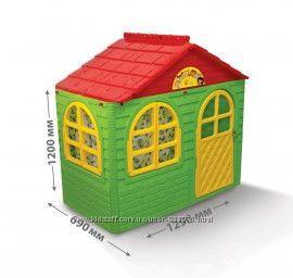 Игровой домик, качественный пластик, новый, в наличии, ТМ Долони