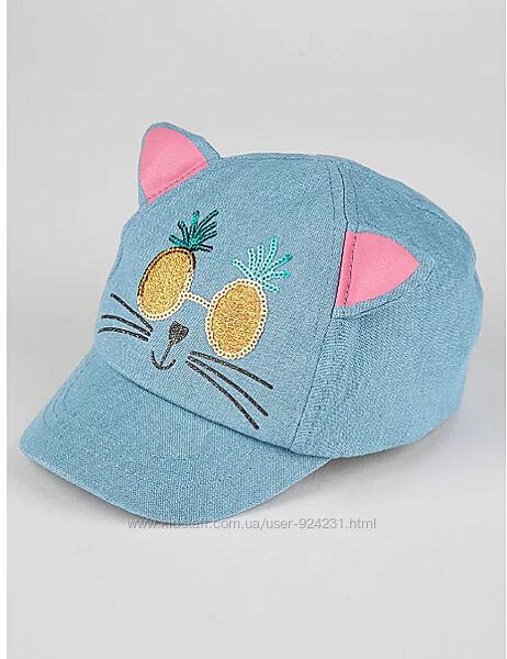 Крутая кепка Кошка с ушками  р 1-3   George