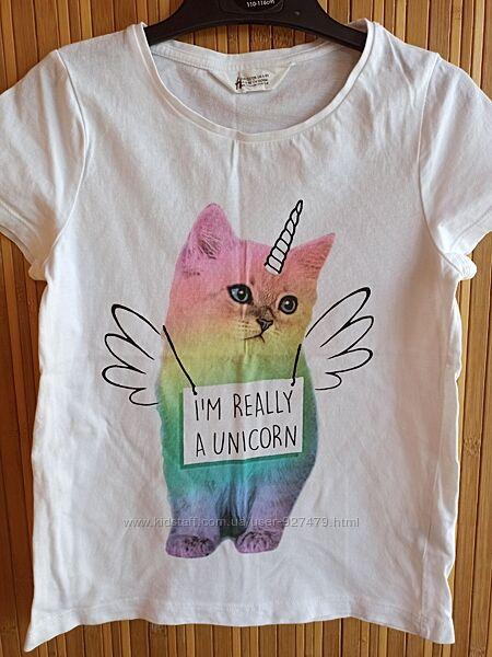 Красивые футболочки для принцесс- H&M, Lupilu, Disney
