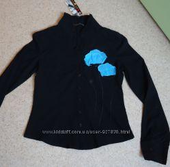 Черная блузка S-М