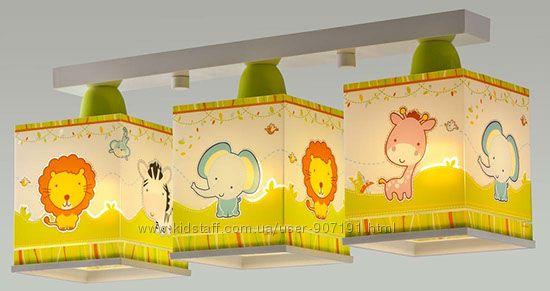 Замечательные фабричные светильники бра в детскую комнату Dalber Испания