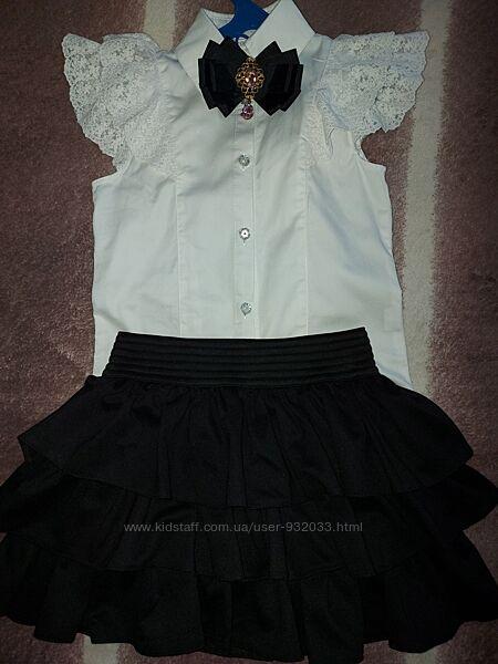 Блуза нарядная для девочкикомплект
