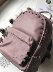 fa0a444a2fde Кожаный женский рюкзак розовый недорого с натуральной кожи Киев в наличии