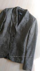 Женский пиджак, в составе шерсть и шелк