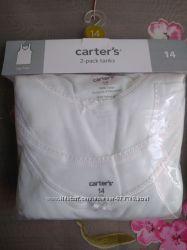 Комплект маек Carters для девочки, размер 14