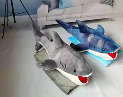 игрушка подушка плед АКУЛА