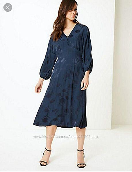 Платье marks&spencer размер 48-50, на высокий рост