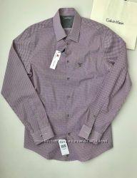 Рубашка мужская Calvin Klein Extreme Slim Fit Кельвин Кляйн Оригинал
