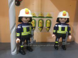 Playmobil пожарные  пожарная станция