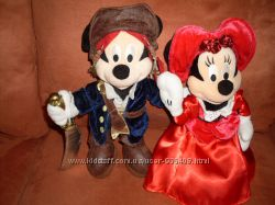 Мягкая плюшевая игрушка Микки Маус и Минни Маус