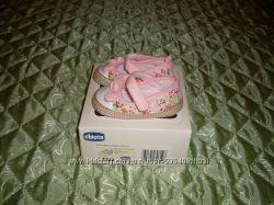 Пинетки-кроссовки Chicco тканевые 18 размер