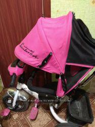 Продам детский велосипед azimut lamborghini с надувными колесами.