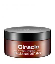 Салфетки от черных точек Ciracle Blackhead Off Shee