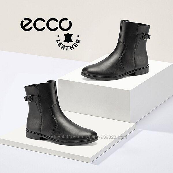 Новые кожаные ботинки экко ecco touch 15 оригинал р.41