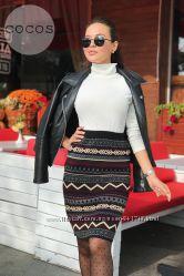 Красивые теплые юбки длиной 55-60 см.