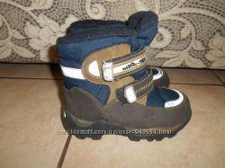 Зимние термо ботинки на мальчика Willowtex, не промокают стелька - 18см