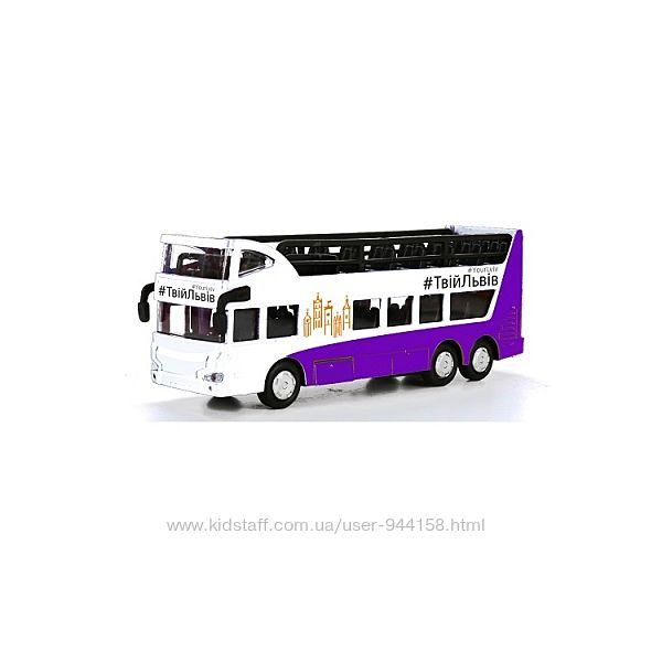 Модель Автобус Двухэтажный Львов
