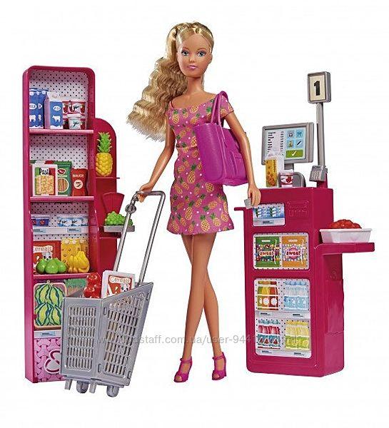 Кукла simba toys штеффи в супермаркете 5733449