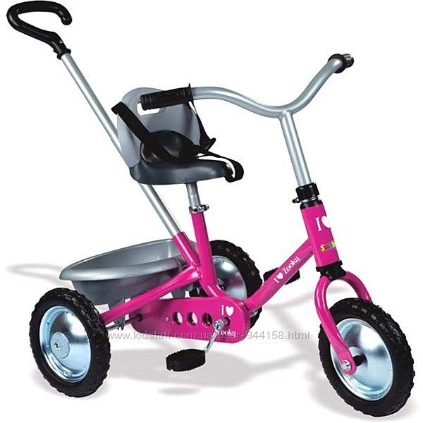 Детский металлический велосипед Smoby Zooky Розовый 454016 , 740800