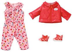 Набор одежды для куклы BABY BORN Скутер в городе 828823