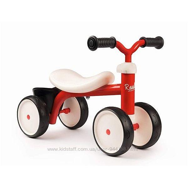 Беговел ролоцикл carrier red smoby 721400 , 721401