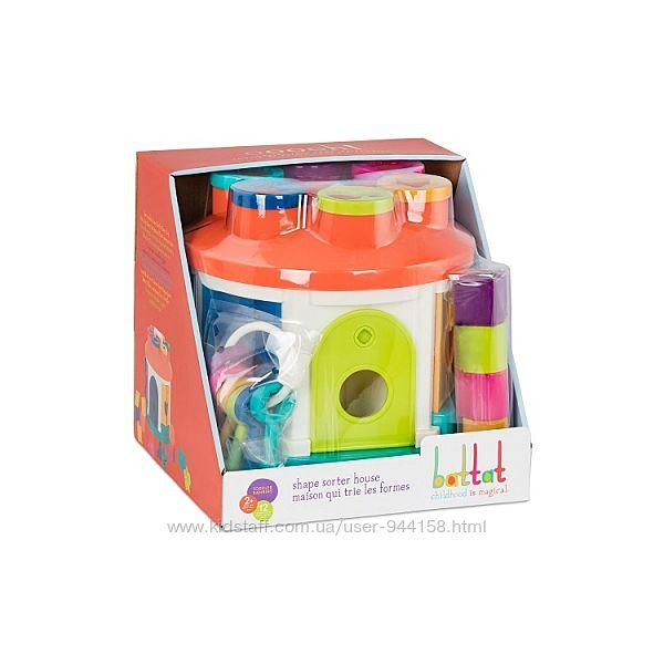 Развивающая игрушка-сортер - Умный Домик 12 форм BT2580Z