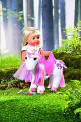 Интерактивная игрушка zapf для куклы baby born сказочный единорог 828854