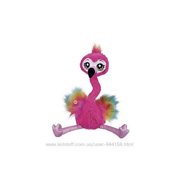 Интерактивный игровой набор pets alive - весёлый фламинго 9522