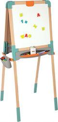 Двухсторонний деревянный мольберт Smoby 410400