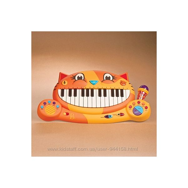 Музыкальная игрушка  КОТОФОН звук BX1025Z Battat