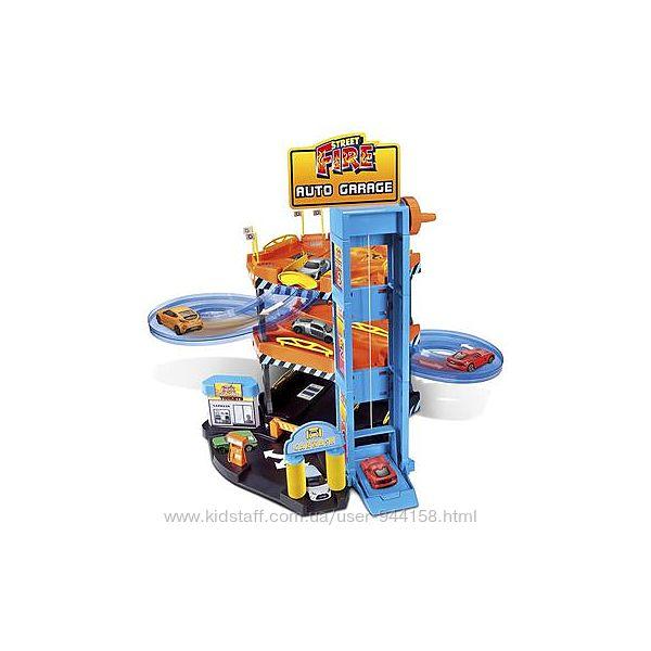 Игровой набор - Паркинг 3 уровня, 2 машинки 1 43 Bburago 18-30361