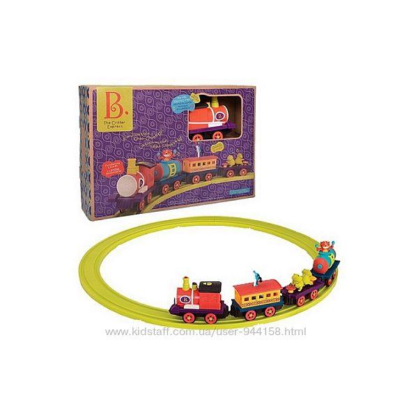 Игровой набор с железной дорогой Баттатоэкспресс S2 свет, звук BX1742 Battat