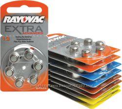 Батарейки RAYOVAC EXTRA ADVANCED для слухового аппарата 10 13 312 675