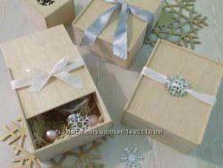 Корпоративные подарки. Деревянные коробки